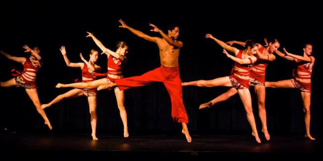 Pennsylvania Ballet Dancers performing