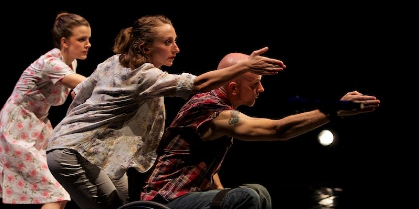 New York's Heidi Latsky Dance and California's AXIS Dance Company Perform Together