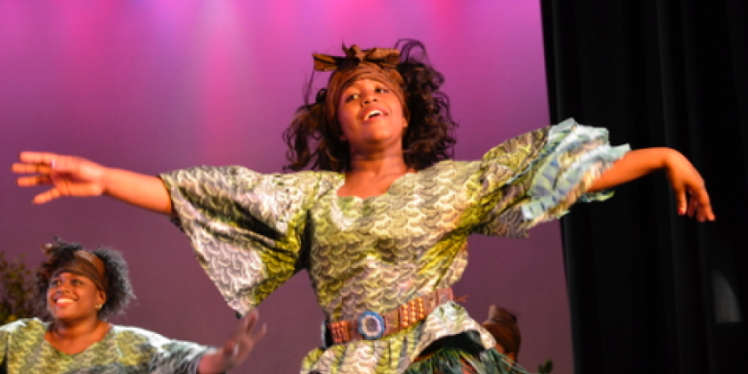 JCAL Presents BLACK HISTORY MONTH: Fanike African Dance Troupe Dancing