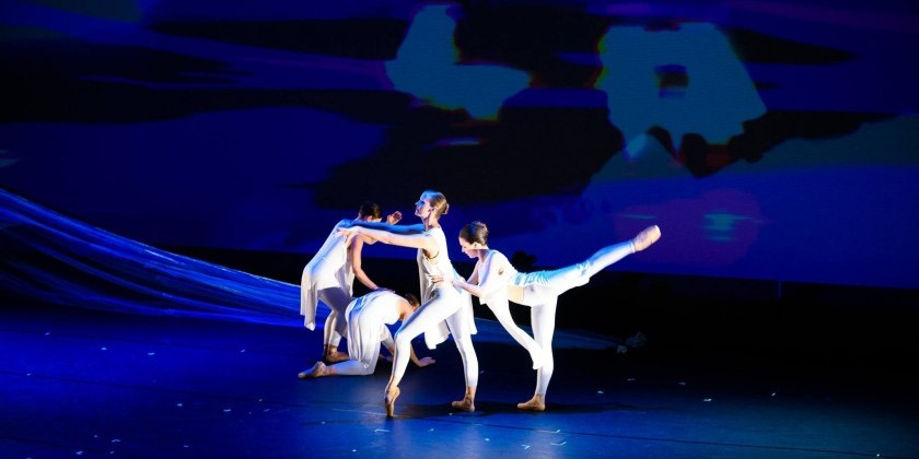 WASHINGTON, DC: Moveius Contemporary Ballet performs on Opening Night of Atlas Intersections Festival