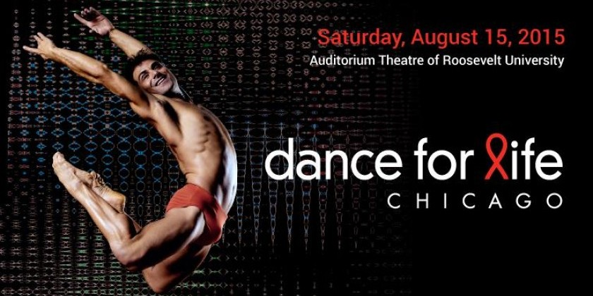 TDE Asks Chicago's David Schultz (Hubbard Street Dance) and Joshua Blake Carter (Giordano Dance Chicago) about DANCE FOR LIFE