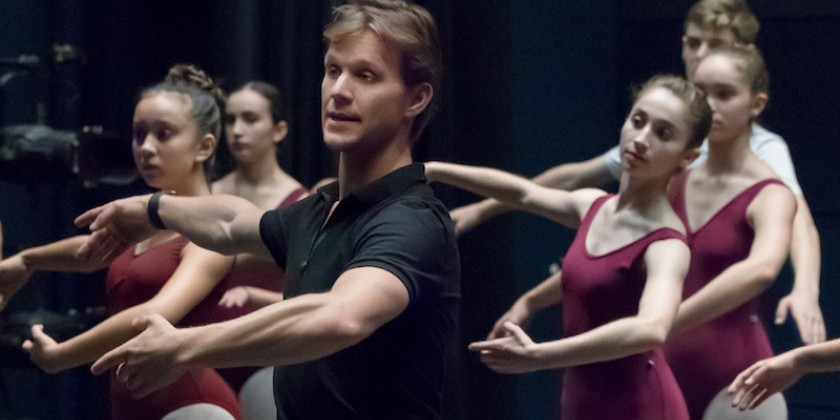 A Postcard Featuring Daniel Ulbricht, Educator, Mentor, and New York City Ballet Principal