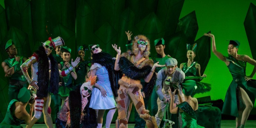 "The Dance Enthusiast Travels to Kansas for a Photo Essay: Peeking into the Kansas City Ballet's Exuberant Production of ""The Wizard of Oz"""