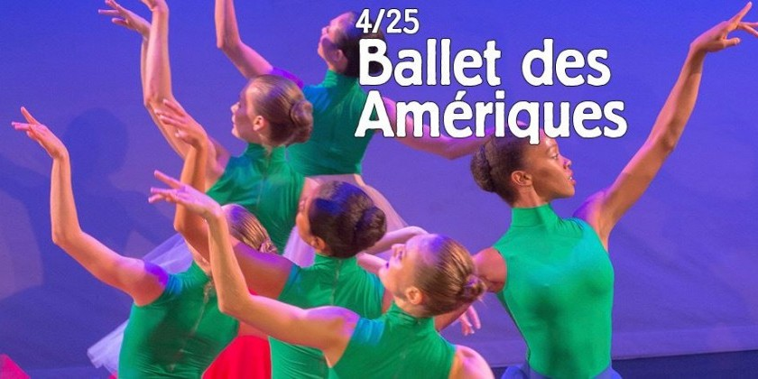 Ballet des Amériques performs at Tarrytown Music Hall