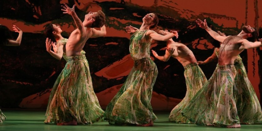 "Impressions of the Mark Morris Dance Group in ""Acis and Galatea"""