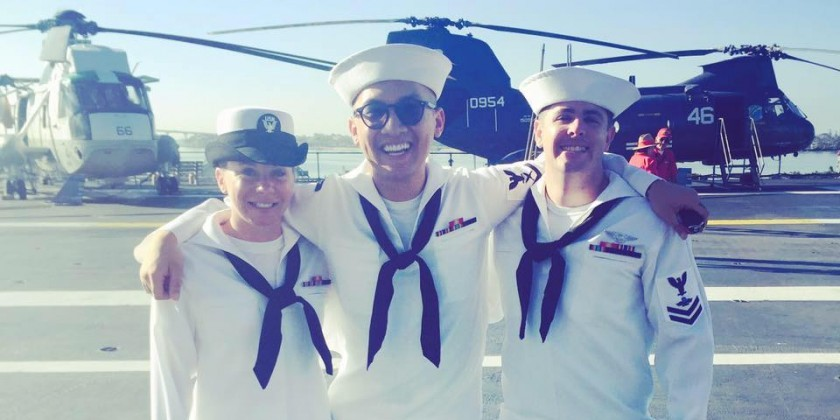 Dancing In the Line of Duty: Danny J. Santana,  Dancer and United States Navy Officer