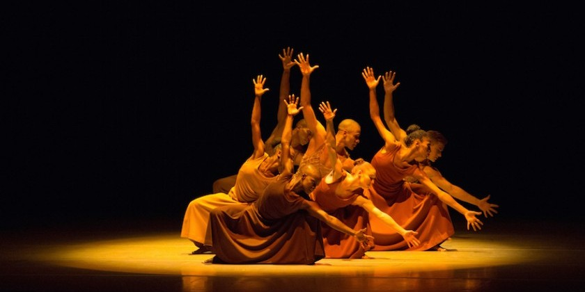 Impressions of Alvin Ailey American Dance Theater At New Jersey Performing Arts Center