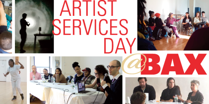 Announcing the 2016 Artist Services Day @BAX - February 7th, 2016