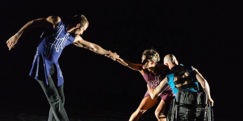 IMPRESSIONS OF: Axis Dance Company and Heidi Latsky Dance