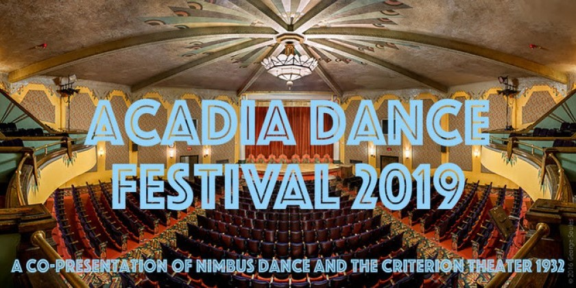 BAR HARBOR, MAINE: Acadia Dance Festival Featuring Nimbus Dance