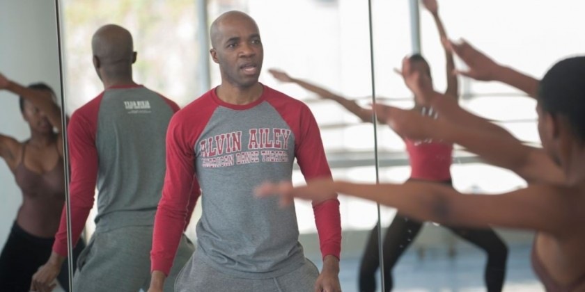 Horton Workshop with Ailey II Artistic Director Troy Powell