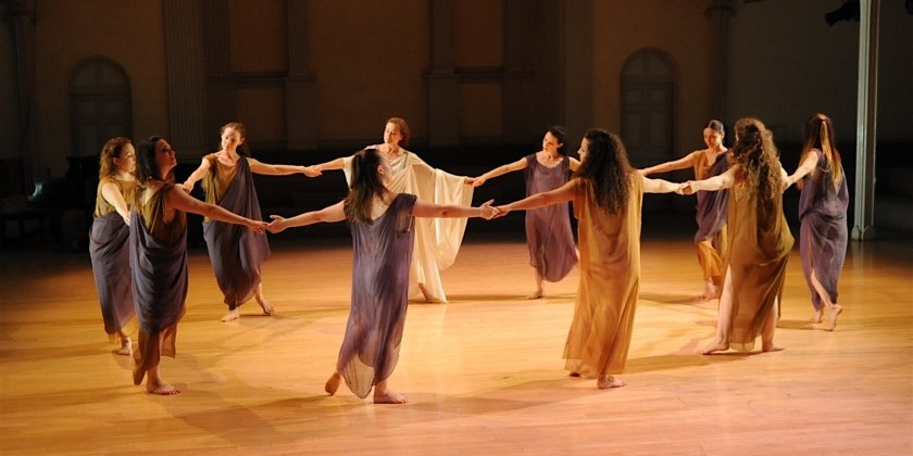 Isadora Duncan classes at the Mark Morris Dance Center