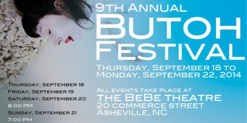"""Women of Butoh"" 9th Asheville Butoh Festival"
