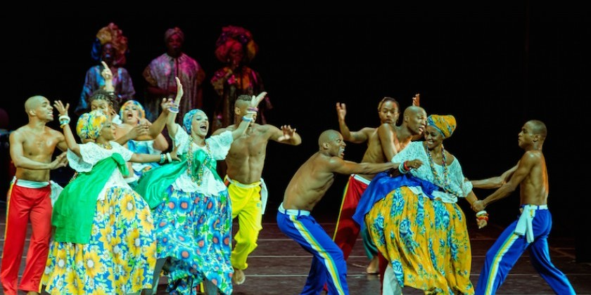 BAM's DanceAfrica 2015 Celebrates Brazilian Rhythms & African Roots with Bale Folclórico da Bahia