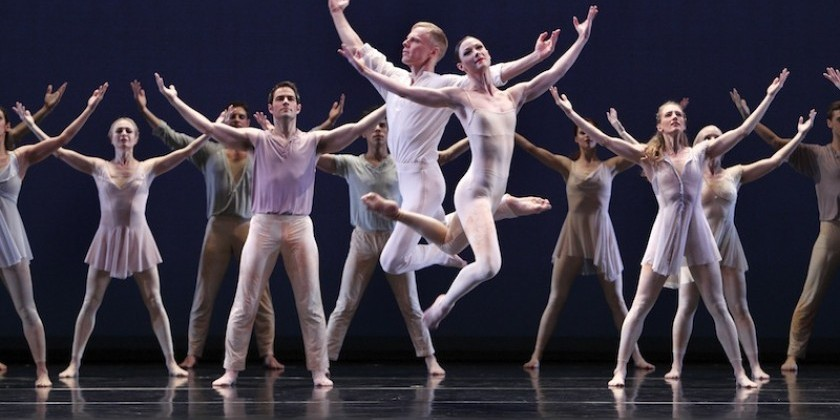 Impressions of Paul Taylor's American Modern Dance