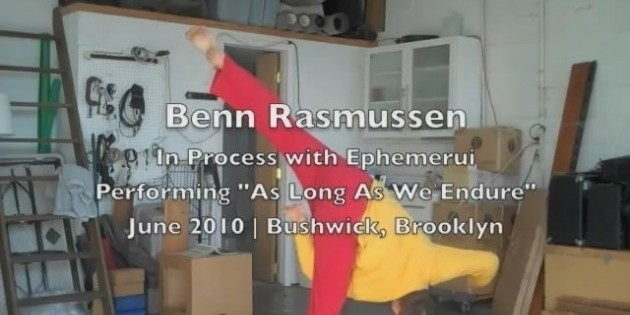 Flipping with The Dance Enthusiast- Benn Rasmussen