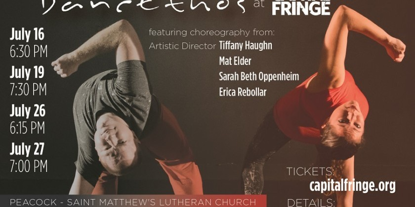 WASHINGTON, DC: DancEthos performs at The Capital Fringe Festival