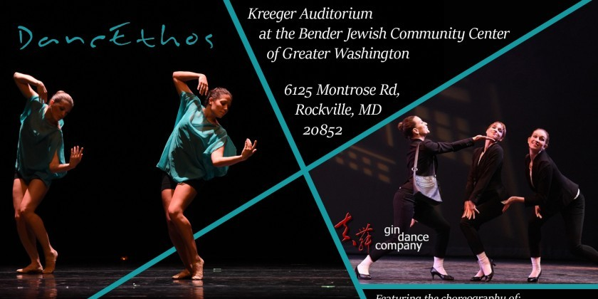 ROCKVILLE, MD: DancEthos with Gin Dance Company