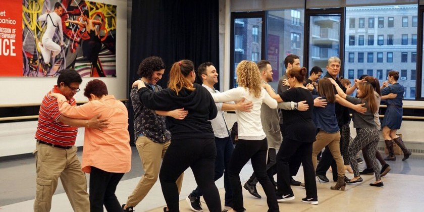 Ballet Hispánico offers Adult Classes in Flamenco, Salsa, Caribbean, Ballet