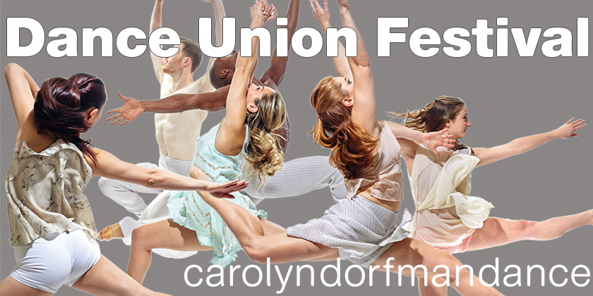 RAHWAY, NJ: Dance Union Performance presented by Carolyn Dorfman Dance