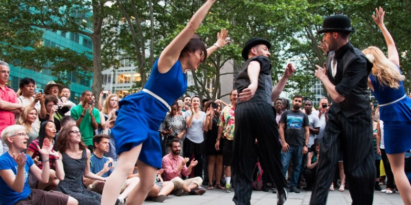 Dance News: Bryant Park Presents Dance Party Beginning May 3 through June 9
