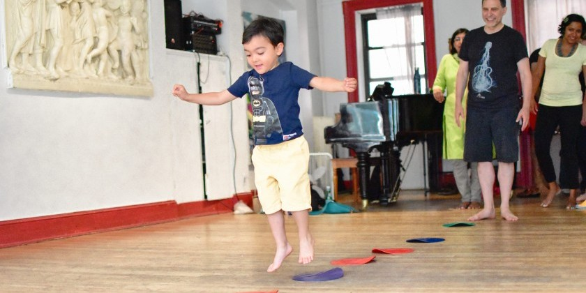Brooklyn Music School announces Toddler Yoga & Dance Class for 2s & 3s from Sep 5-Dec 18