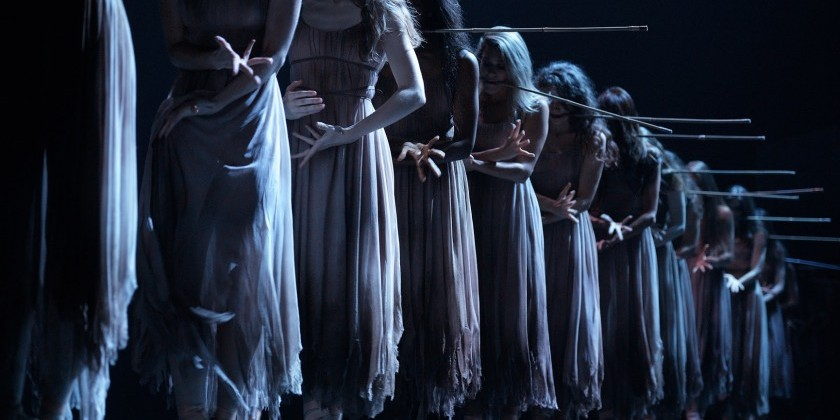 "CHICAGO, IL: The Harris Theater Presents the English National Ballet in Akram Khan's ""Giselle"""