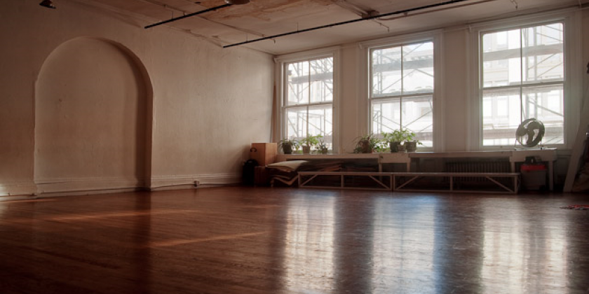Movement Research Studio Availability for March, April, May & June