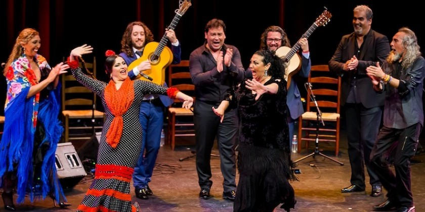 "Impressions of: Sara Baras'  ""Voces"" and  ""Generations of Gypsy Flamenco"" Curated by Nina Menéndez"