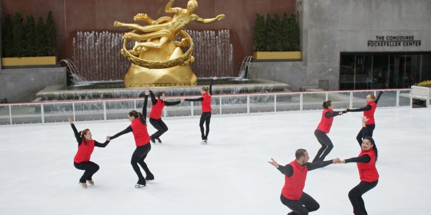 IMPRESSIONS: Third Rail Projects at Brookfield Place and Ice Theatre of New York at The Rink at Rockefeller Center
