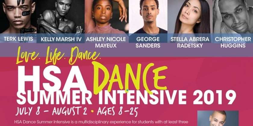 ARLEM SCHOOL OF THE ARTS: SUMMER DANCE INTENSIVE 2019