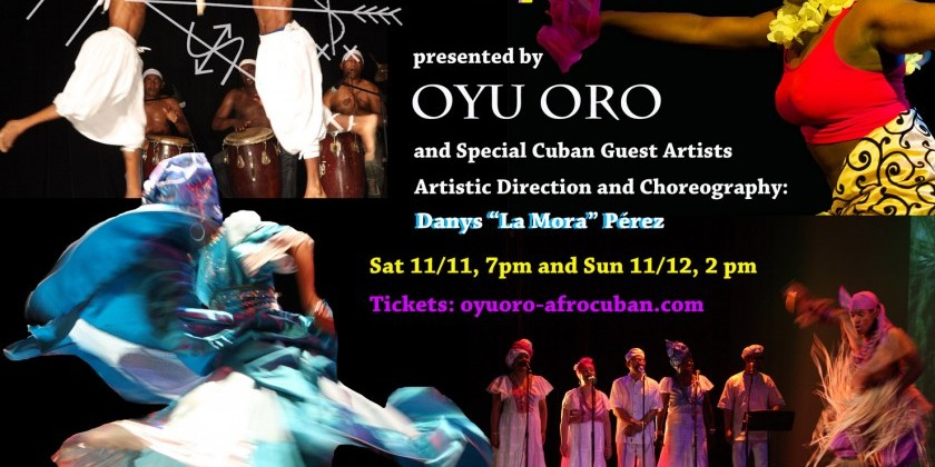 """Herencia Africana"" by Oyu Oro Afro Cuban Experimental Dance Ensemble"
