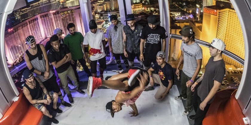 A Postcard from Red Bull BC One: B-Boy Battle in the Sky