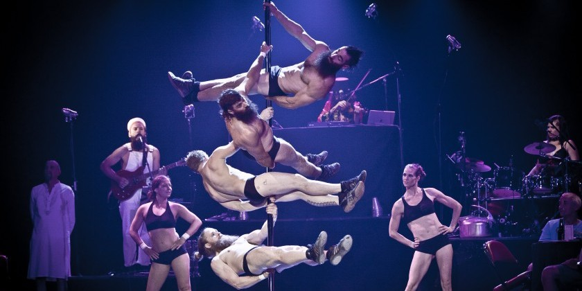 "IMPRESSIONS: Cirque Alfonse's  ""BARBU Electro Trad Cabaret"" at NYU Skirball Center"