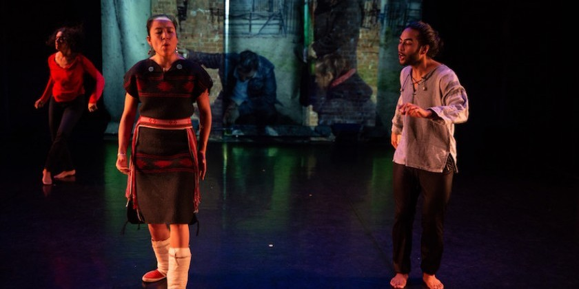 IMPRESSIONS: Gathering Place: Black Queer Land(ing)! Curated by Marýa Wethers at Gibney Dance
