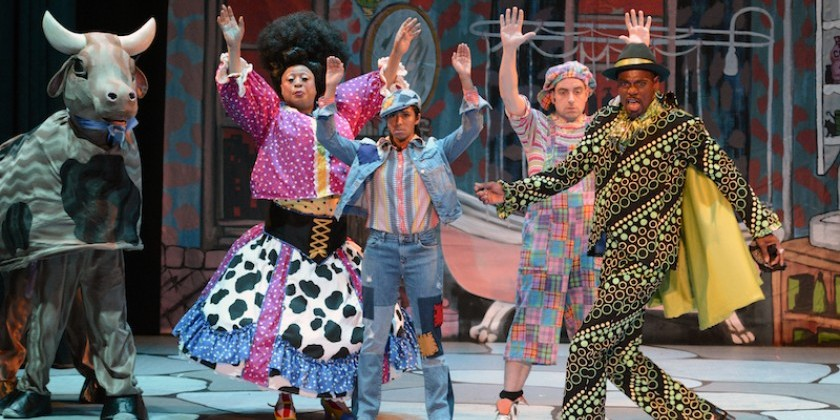 "IMPRESSIONS: ONEOFUS' ""Jack and the Beanstalk"" at Abrons Arts Center"