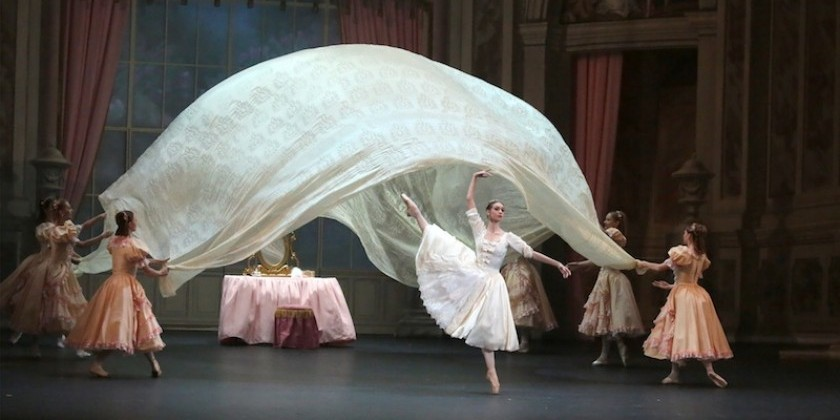"Impressions of a screening of ""Marco Spada"" The Bolshoi Ballet"