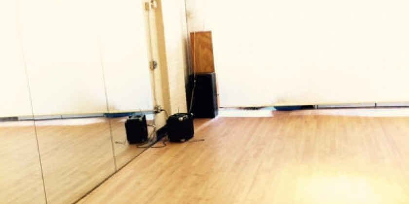 Subsidized Rehearsal Space at New Dance Alliance