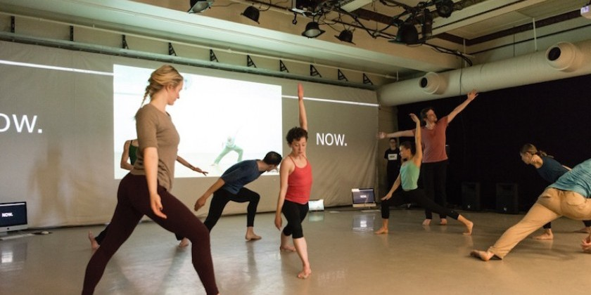 "Impressions of Pat Catterson's ""Now: a new dance performance/installation event"""