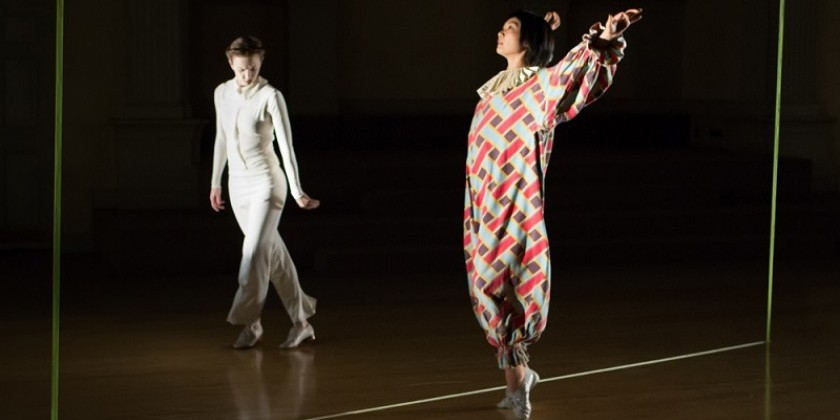 "Impressions of: Cori Olinghouse's ""Ghost lines"" at Danspace Project"