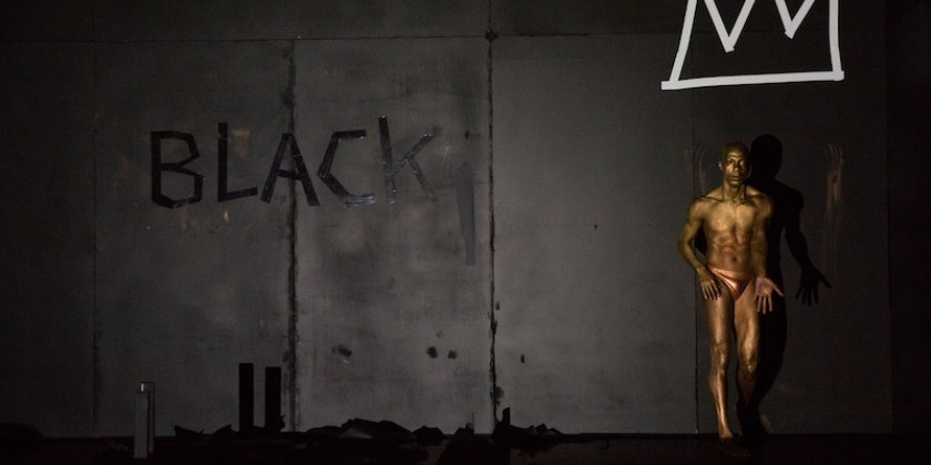 "IMPRESSIONS: Shamel Pitts' ""Black Box: Little Black Book of Red"" at Gibney"