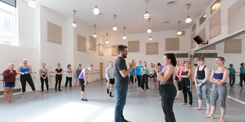 Mark Morris Dance Group - Summer Intensive Audition/Master Class