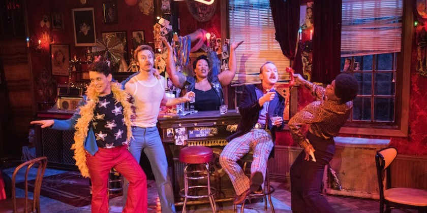 "Impressions of ""The View UpStairs"":  A new Off-Broadway musical by Max Vernon at Lynn Redgrave Theater at Culture Project"