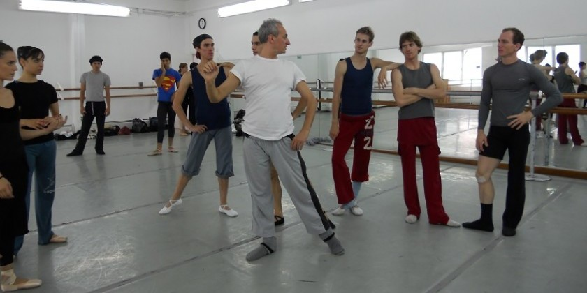 Choreographer Vladimir Angelov Creates Dance ICONS, The First Global Choreographers' Network