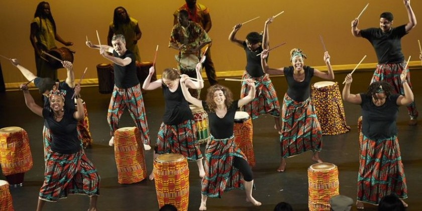 Ailey Extension's annual World Dance Celebration: An 8-week workshop series