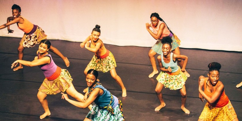 Young Dancemakers Company at Harlem School Of The Arts