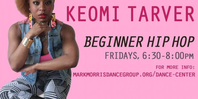 abunDANCE with Keomi Tarver Friday Class at Mark Morris Dance Center