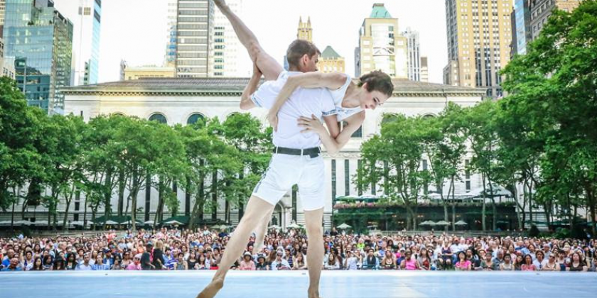 Bryant Park Presents FREE Contemporary Dance from June 16-July 14 Every Friday at 6PM