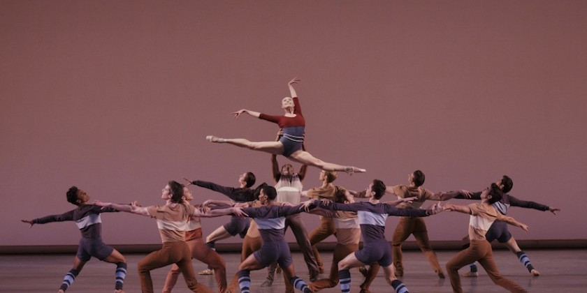 IMPRESSIONS OF: New York City Ballet – Americana x Five