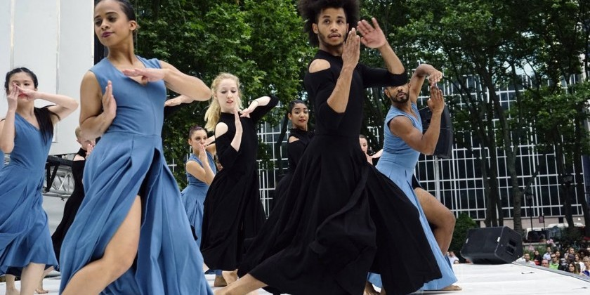 Contemporary Dance at Bryant Park